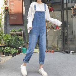 Jeans Kingdom - 牛仔背帶褲
