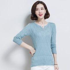 Romantica - 長袖針織上衣