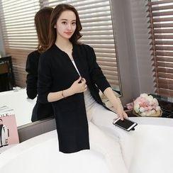 Mioni - Plain Knit Jacket