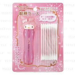 Sanrio - Cotton Swab Case With Mirror (My Melody)