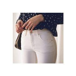 CHERRYKOKO - Band-Waist Skinny Pants