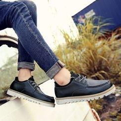 Chariot - 拼接系带休闲鞋