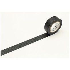 mt - mt Masking Tape : mt 1P Fluctuation Tile Black