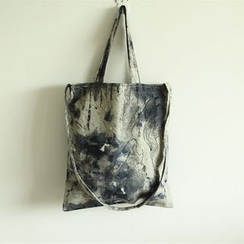 TangTangBags - Printed Canvas Shopper Bag