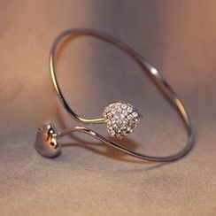 Cheermo - Heart Open Bangle