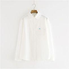 Storyland - Long-Sleeve Embroidery Shirt