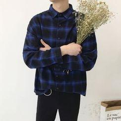 MRCYC - Long-Sleeve Plaid Shirt