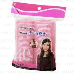 LUCKY TRENDY - Velcro Aluminium Roller (40mm) (Pink) (114-01A)