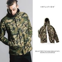Newin - Camouflage Hooded Jacket