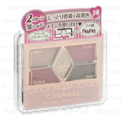 Canmake - Perfect Stylist Eyes (#14 Antique Ruby)
