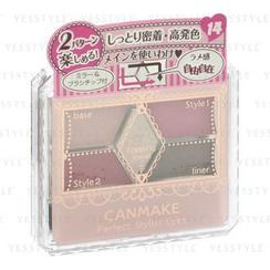 Canmake - 完美高效眼影 (#14 古典深红)