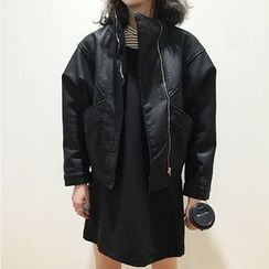 Shelby - Faux-Leather Jacket