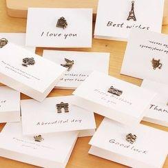 Libbop - Mini Greeting Card