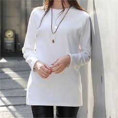 CHICFOX - Raglan-Sleeve Long T-Shirt