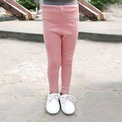 CUBS - 童裝字母內搭褲