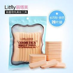 Litfly - Makeup Sponge (Rectangle) (Beige)