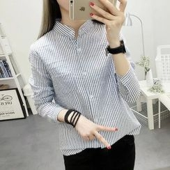 Neeya - Pinstriped Blouse
