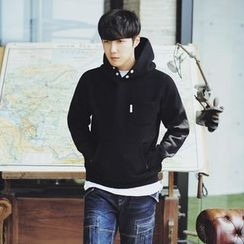 MEING - Plain Hooded Pullover
