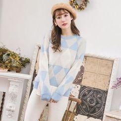 Tokyo Fashion - Argyle Sweater