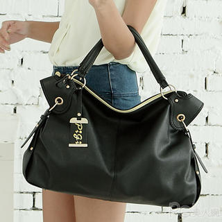 PG Beauty - Faux-Leather Satchel