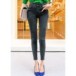 J-ANN - Plain Skinny Jeans