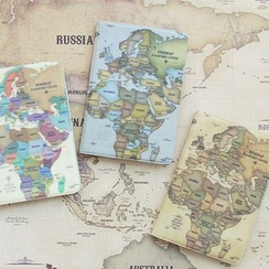 iswas - 'Indimap' Series Passport Case
