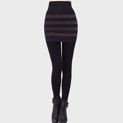 ENZA - Stripe Inset Leggings