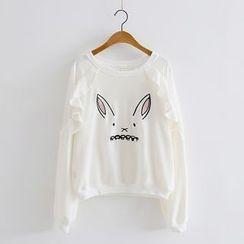 PP家 - 小兔印花卫衣