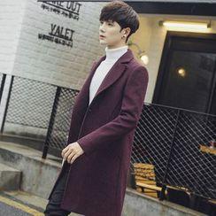 Flambeau - Long Woolen Coat