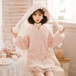 Candy Rain - Hooded Long Padded Coat