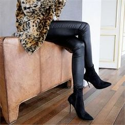 LIPHOP - Coating Skinny Pants