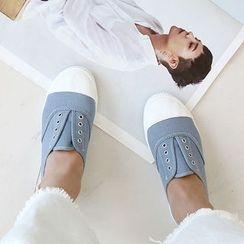 NANING9 - Cotton Slip-Ons
