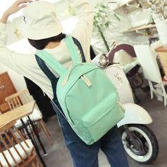 Seok - 纯色帆布背包