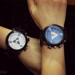 Bingle - Triangle Print Strap Watch