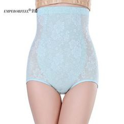 Fair Lady - High Waist Lace Shaping Panties