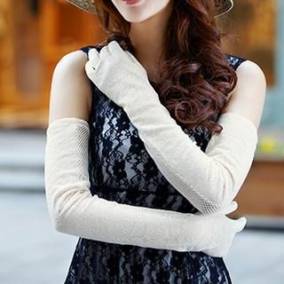 siggi - Lace Long Gloves