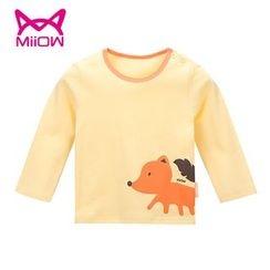 MiiOW - Kids Printed Long-Sleeve T-Shirt