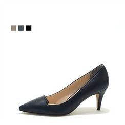 MODELSIS - Genuine Leather Pumps