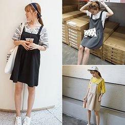 TriStyle - Plain Jumper Skirt