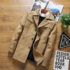 T for TOP - Panel Trench Coat