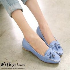Wifky - Fringed Hidden-Heel Loafers