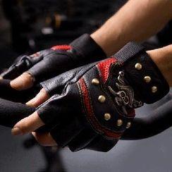 RGLT Scarves - Skull Studs Gloves