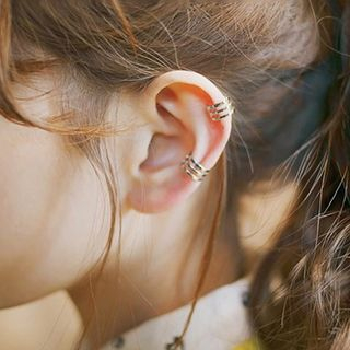 Silver-Tone Ear Cuffs