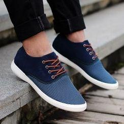 MARTUCCI - 系带网纱休閒鞋