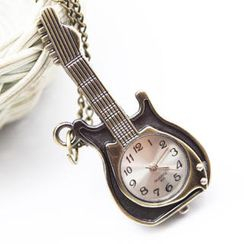 Fit-to-Kill - Delicate Guitar Pocket Watch