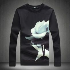 Blueforce - Rose Print Pullover