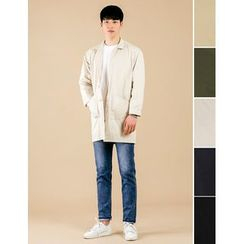 STYLEMAN - Dual-Pocket Single Button Jacket