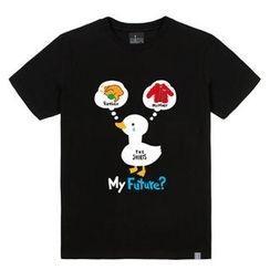the shirts - Duckling Print T-Shirt