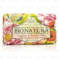 Nesti Dante - Bio Natura Sustainable Vegetal Soap - Wild Raspberry and Nettle