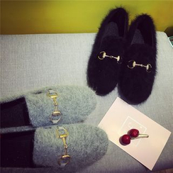 Hipsole - Faux-Fur Loafers